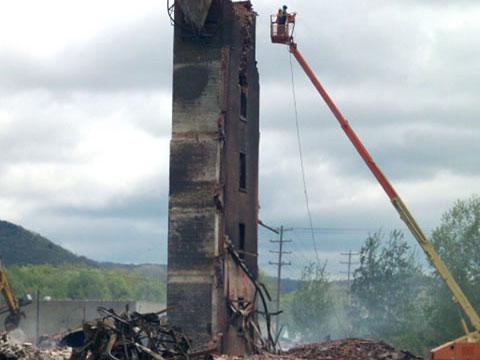 Rochester Street Demolition